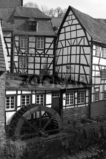Monschau - historic city in the west of Germany