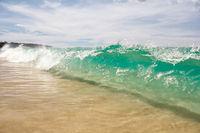 Wave on Karon Beach in Phuket, Thailand