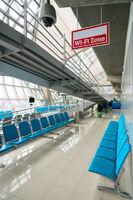 Wi-fi zone in lounge of  Suvarnabhumi airport