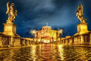 Castel San Angelo, Rome, Italy