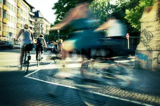 im Berliner Strassenverkehr