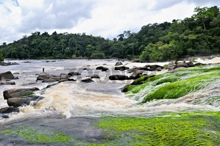 Mabuka-Stromschnellen Palumeu Suriname