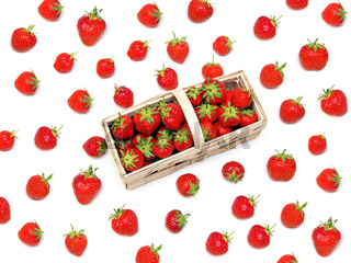 einige Erdbeeren / a few strawberries