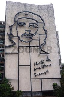 Che Guevara, Plaza de la Revolucion,Havanna