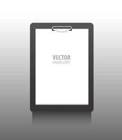 Premium corporate identity template .Writing tablet. Business stationery mock-up .Vector illustration.