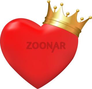 Heart In Crown