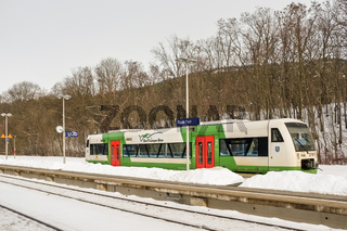 Südthüringenbahn in Plaue (Thür)