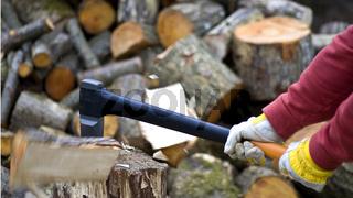 Timber Worker Lumberjack Axe