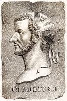 Claudius II or Claudius Gothicus, Roman emperor from 268 to 270