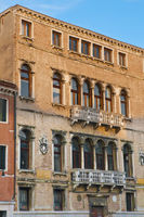 Nani Palace entrance located at Venice, Italy