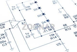 Electronic Circuit Diagram Audio