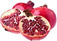 Granatäpfel - freigestellt