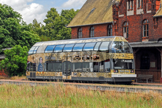 Dessau-Woerlitzer-Eisenbahn in Oranienbaum