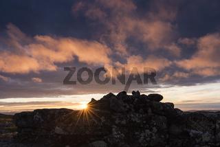 Mitternachtssonne, Dundret, Lappland