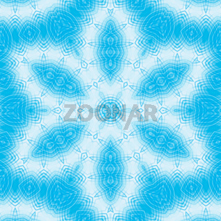 Background with blue abstract pattern