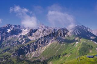 Allgäuer Alpen, Allgäu, Bayern, Deutschland, Europa