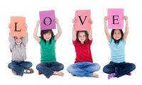 Kid Letters Love
