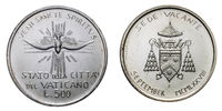 Papal Vacant see 1978 september silver coin uncircoled