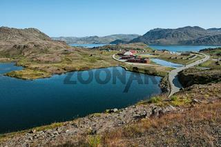 Honningsvag in Norway
