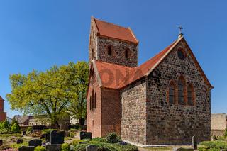 Mittelalterliche Dorfkirche Krummensee, Blick von Osten