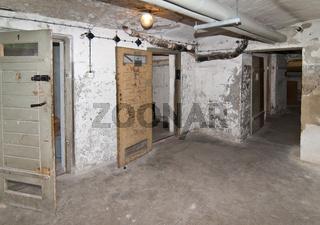 Zellentrakt im ehemaligen Untersuchungsgefaengnis der Stasi in der Lindenstrasse 54, genannt Lindenhotel, Potsdam, Brandenburg   Cell block, Former prison of the state security service of the GDR, Potsdam, Brandenburg