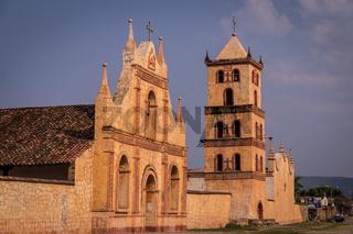Jesuit Mission in San Jose de Chiquitos, Bolivia