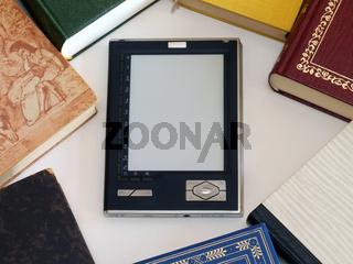 ein eBook Lesegerät / a e-book reader