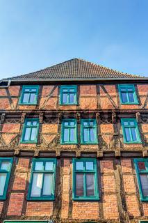 Moltke-Haus in Parchim - traditionelles Fachwerkhaus