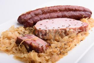 Sauerkrautteller