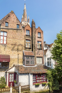 Small Lace Shop Next To The Canal Bruges