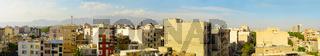 Tehran panorama at sunset. Iran