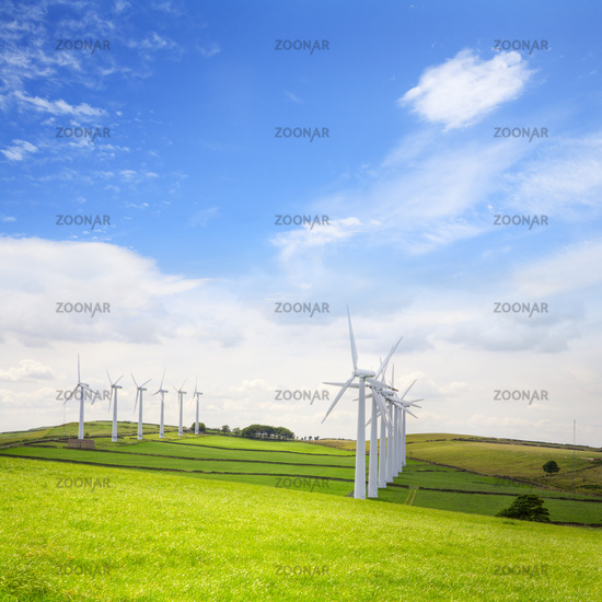Wind Turbines at Royd Moor, Penistone, Yorkshire, England