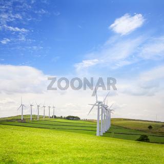 Wind Turbines at Royd Moor, Penistone, Yorkshire, England