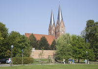 Klosterkirche Sankt Trinitatis, Neuruppin, Brandenburg, Germany