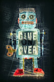 robot game over