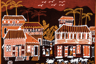 Traditional Batik Pictures Romney Manor St. Kitts West Indies