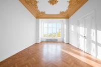 empty room in beautiful apartment - real estate interior