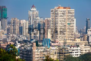 Mumbai Building Skyline
