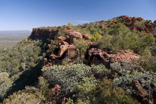 Blick vom Waterberg-Plateau