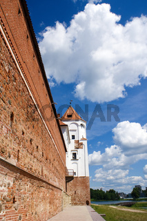 Wall and Tower of Mir Castle