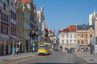 Straßenbahn in Pilsen