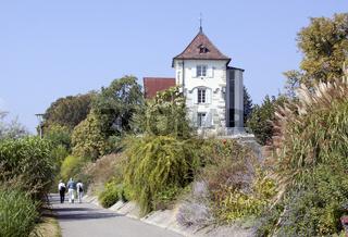 Uferpromenade Überlingen mit Badturm