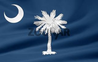 Flagge von South Carolina - USA