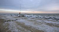 Wintertag am Brodtener Ufer