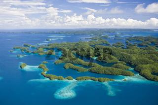 Inselwelt von Palau, Mikronesien, Palau, Islands of Palau, Micronesia