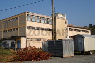 Kaufhaus Weirich  Abriss 18.8.2009