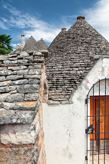 The Trulli of Alberobello in Apulia, Italy