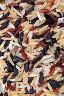 rice grain multicolor background