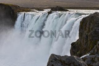 Island, Goðafoss, der Götterfall