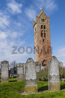 Church and Graveyard of Firdgum, Holland
